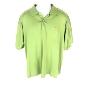 Augusta National Men's Green Masters Polo L